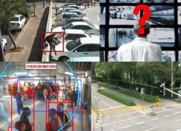 Systèmes de vidéosurveillance et traitements d'images associés