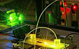 Microscopie de fluorescence au LCF