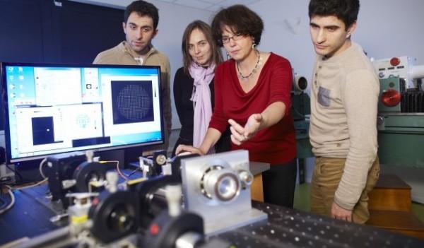 Optique adaptative - Crédits IOGS/A. Chézières