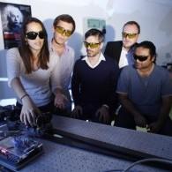 Mission laser. Crédits IOGS/A. Chézières