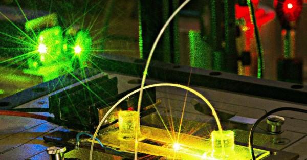Microscopie de fluorescence au laboratoire Charles Fabry - IOGS - CNRS