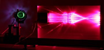 Tracé de rayons lumineux. Crédit Institut d'Optique Graduate School.